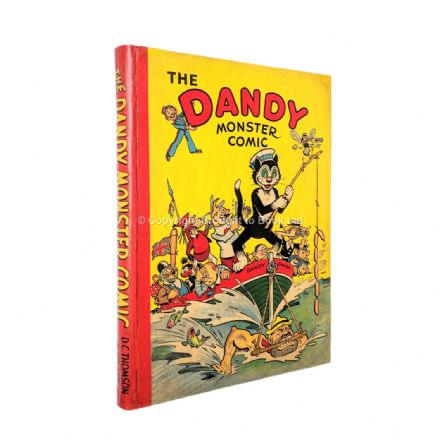 The Dandy Monster Comic 1942 Annual D.C. Thomson